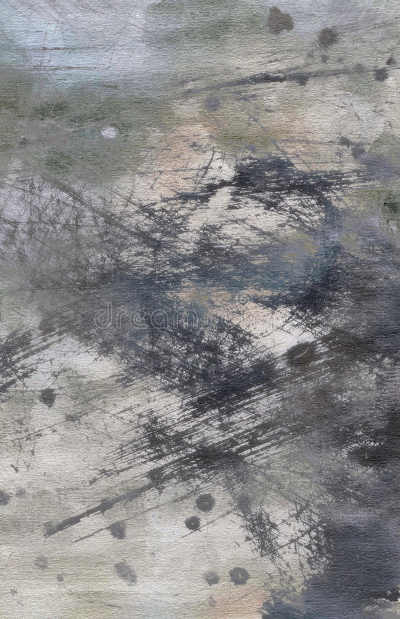Abstrakte grunge Aquarellbeschaffenheit lizenzfreie stockfotografie
