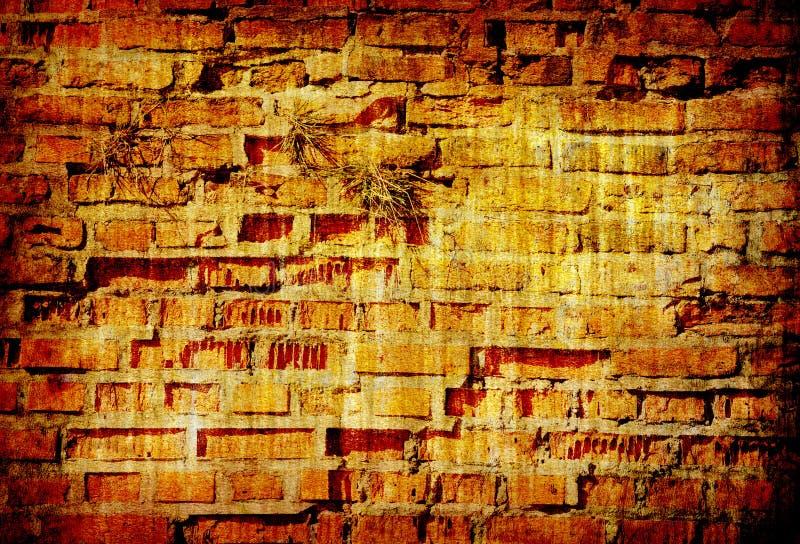 Abstrakte grunge Hintergrundbeschaffenheit der Backsteinmauer stockfotografie