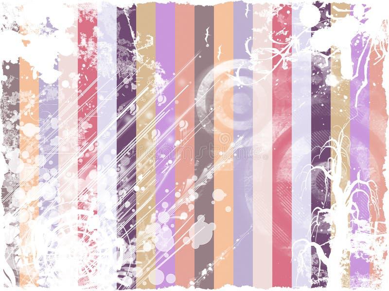 Abstrakte Grunge Weinlese vektor abbildung