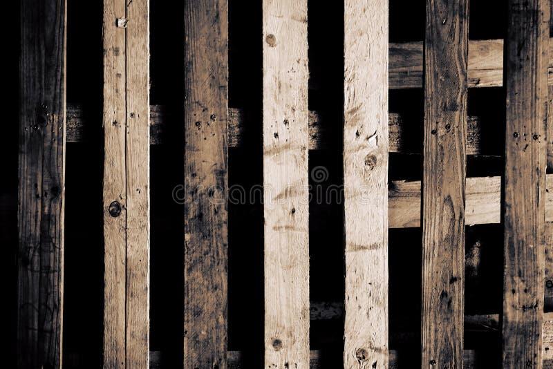 Abstrakte hölzerne Palette stockfotos
