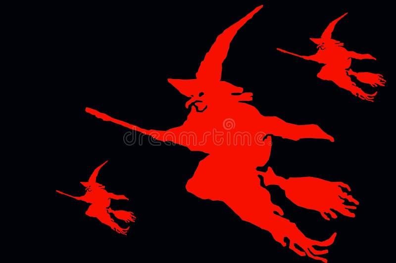 Abstrakte Halloween-Abbildung stock abbildung