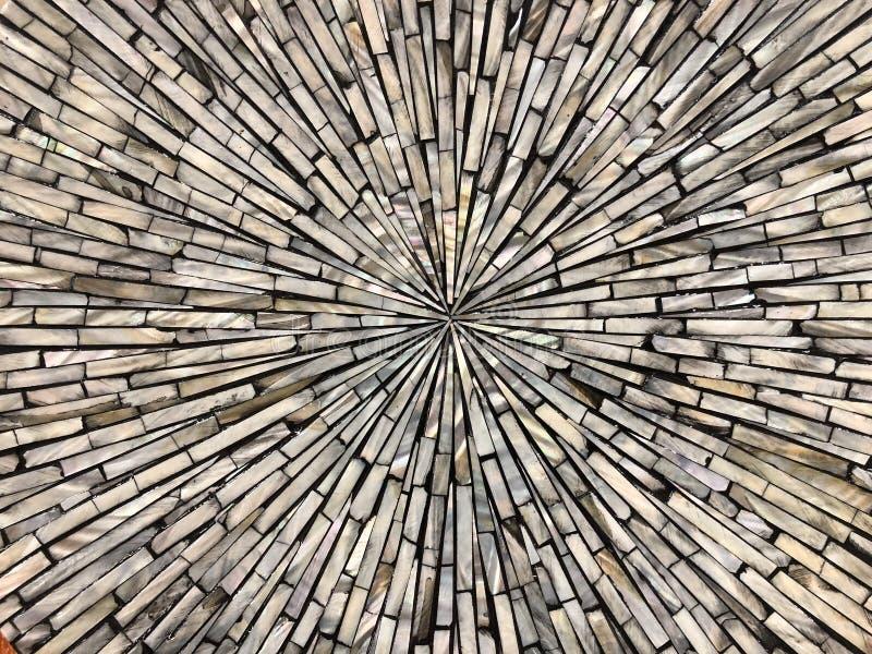Abstrakte helle Perlensteinbeschaffenheit von den Rändern zum Mittelhintergrund stockbild