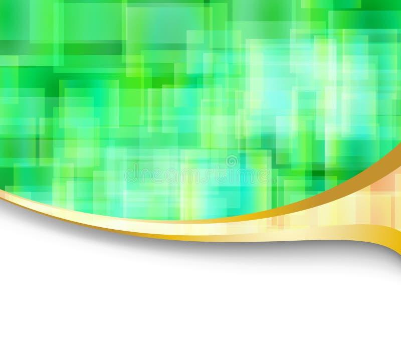 Abstrakte Hightech- Energiefahne Lizenzfreie Stockfotografie