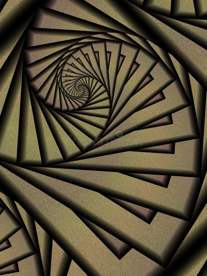 Abstrakte Hintergrund-Strudel lizenzfreie abbildung