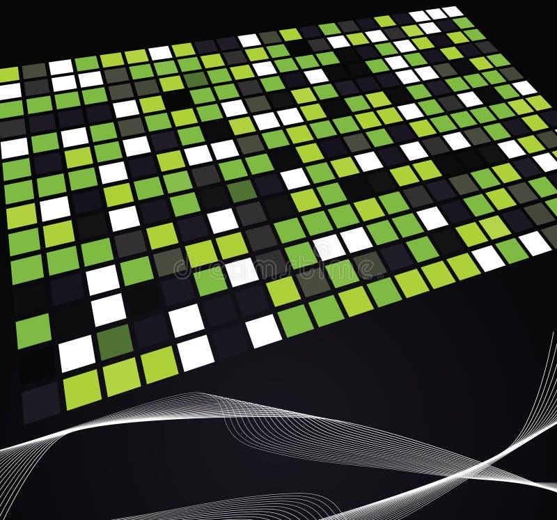 Download Abstrakte Hintergrundabbildungauslegung Vektor Abbildung - Illustration von geometrisch, steigung: 9088459