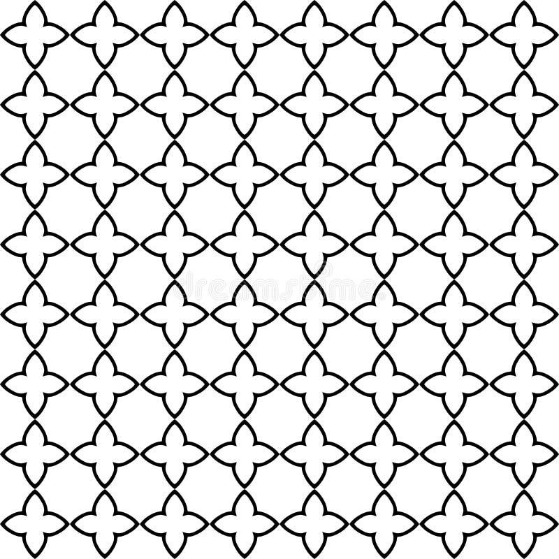 Abstrakte Hintergrundbeschaffenheit in der dekorativen Art Nahtloser Entwurf Tileable vektor abbildung