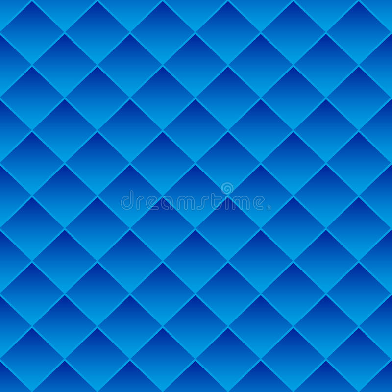 Abstrakte Hintergrundblaufliesen stock abbildung