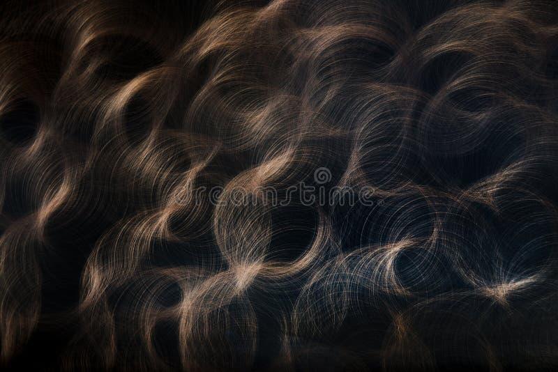 abstrakte Hintergrundkreislinie lizenzfreies stockfoto
