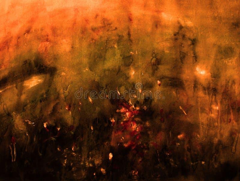 Abstrakte Hintergrundmalerei lizenzfreie abbildung