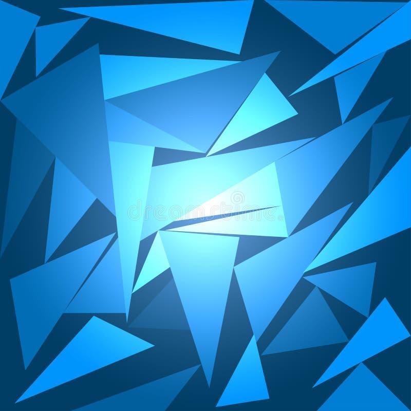 Abstrakte Hintergrundpolygonkunst-Vektorillustrationen vektor abbildung