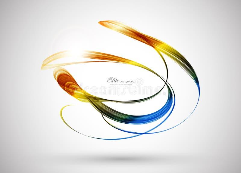 Abstrakte Hintergrundschablone der Farbe vektor abbildung