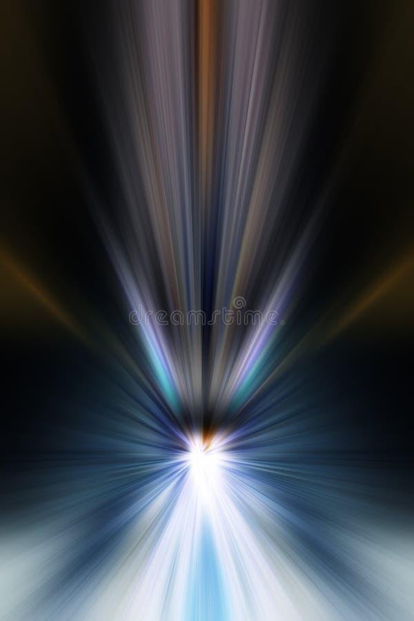 Abstrakte Hintergrundstrahlen lizenzfreie abbildung
