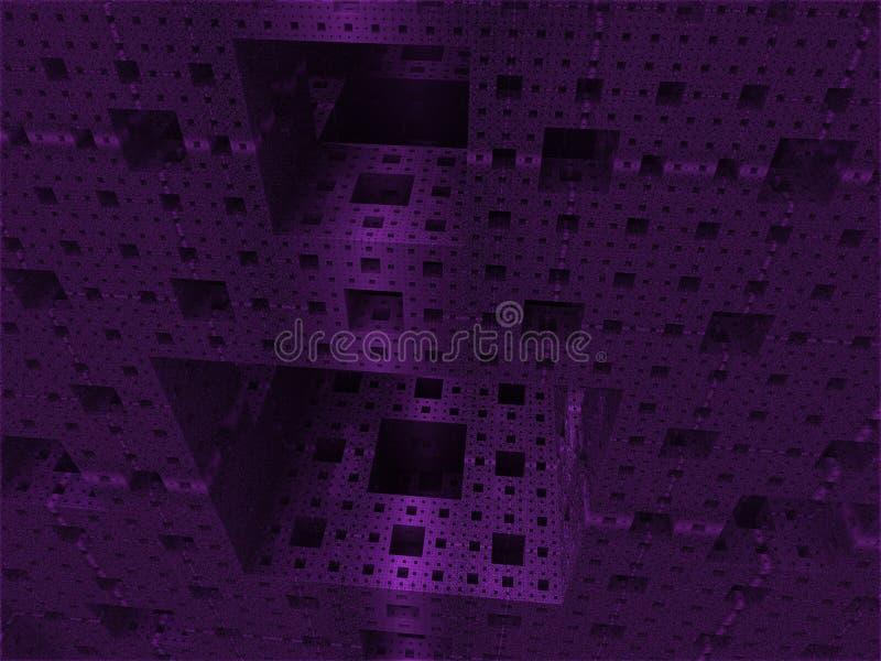 Abstrakte Hintergrundwürfelwelt lizenzfreie stockfotografie