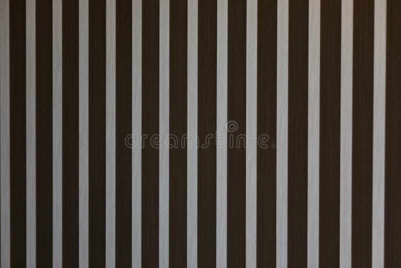 Abstrakte Holzleistewand stockfotos