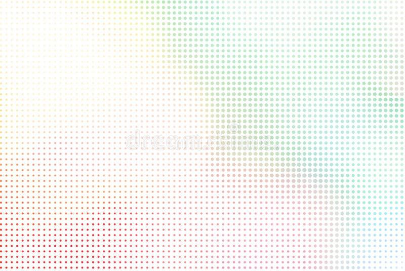 Abstrakte Illustrationen der Pixelart, begrifflich Details, Schablone, Muster u. Abdeckung lizenzfreie abbildung