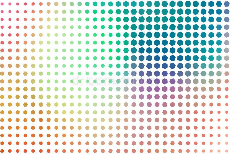 Abstrakte Illustrationen der Pixelart, begrifflich Zeichnung, Segeltuch, Hintergrund u. Hintergrund stock abbildung