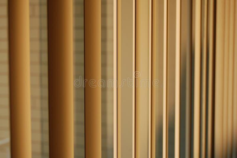 Abstrakte Jalousien lizenzfreie stockbilder