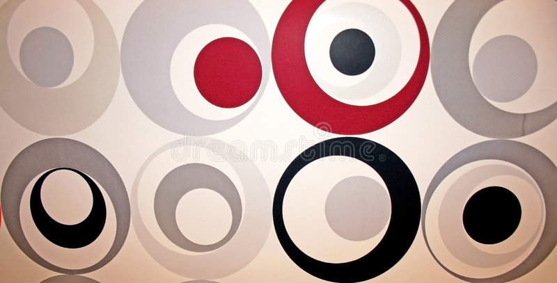 Abstrakte Kreise stockbild