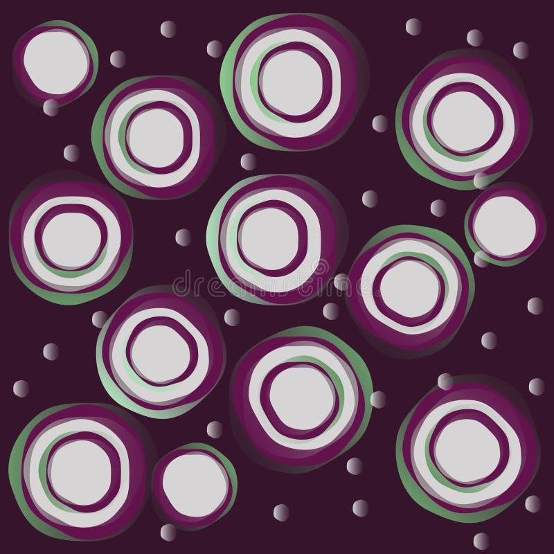 Abstrakte Kreise stockfotografie