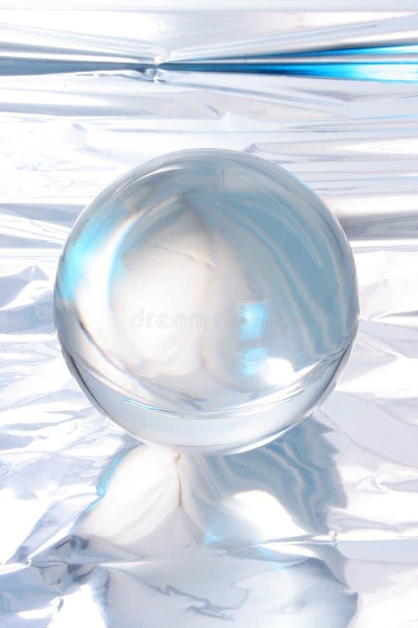 Abstrakte Kristallkugel lizenzfreies stockfoto