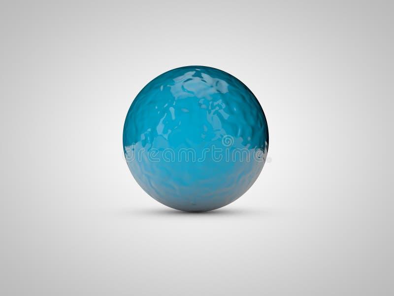 Abstrakte Kugel 3d Niedrige Illustration für Anzeigen! setzen Sie ein Bild Ihres Produktes lizenzfreies stockfoto