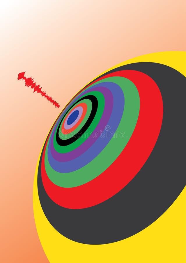 Abstrakte Kugelauslegung vektor abbildung