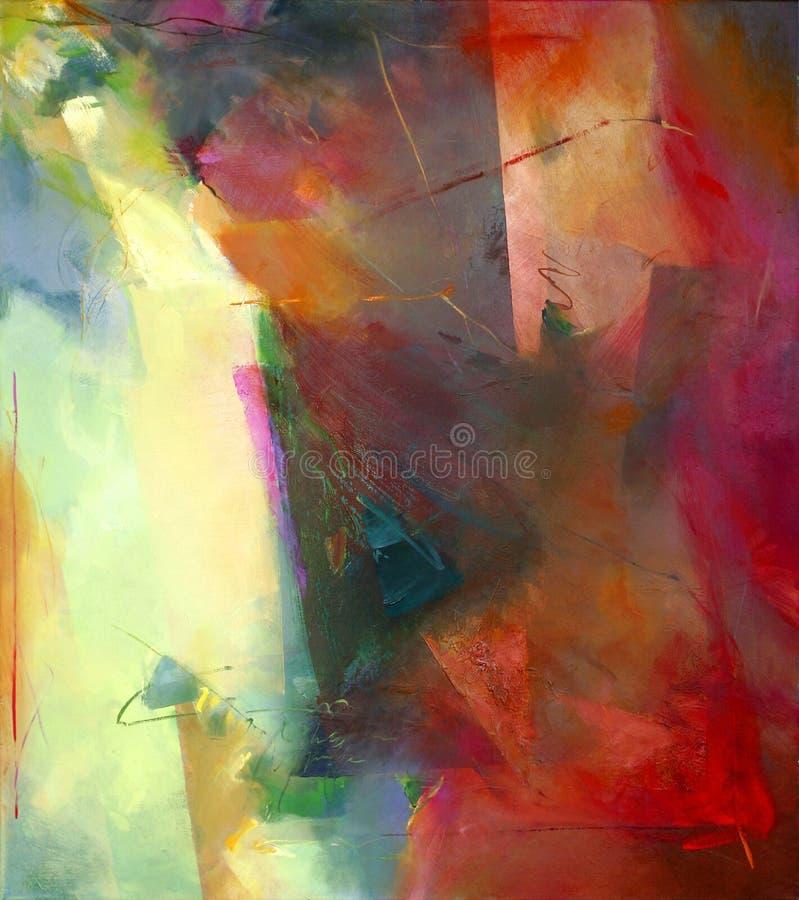 Abstrakte Kunst lizenzfreie abbildung