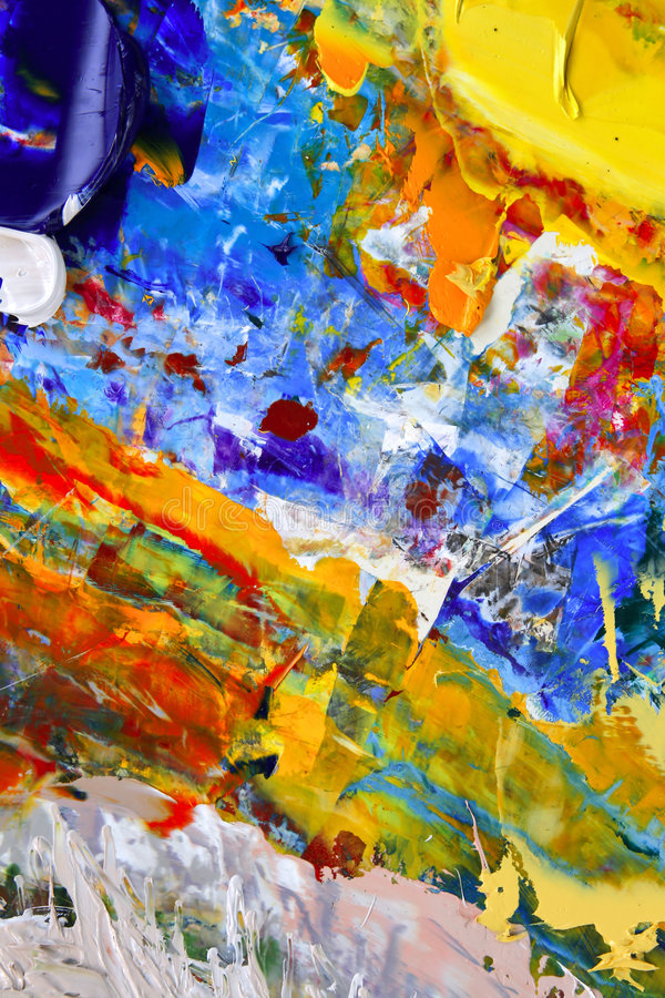 Abstrakte Kunst stockfoto
