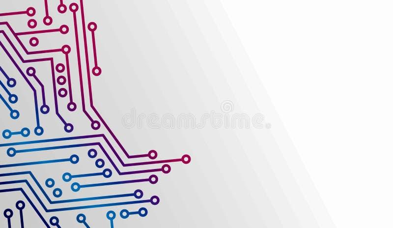Abstrakte Leiterplatte lizenzfreie stockfotos