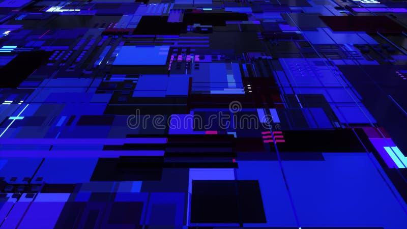 Abstrakte Leiterplatten stockbild