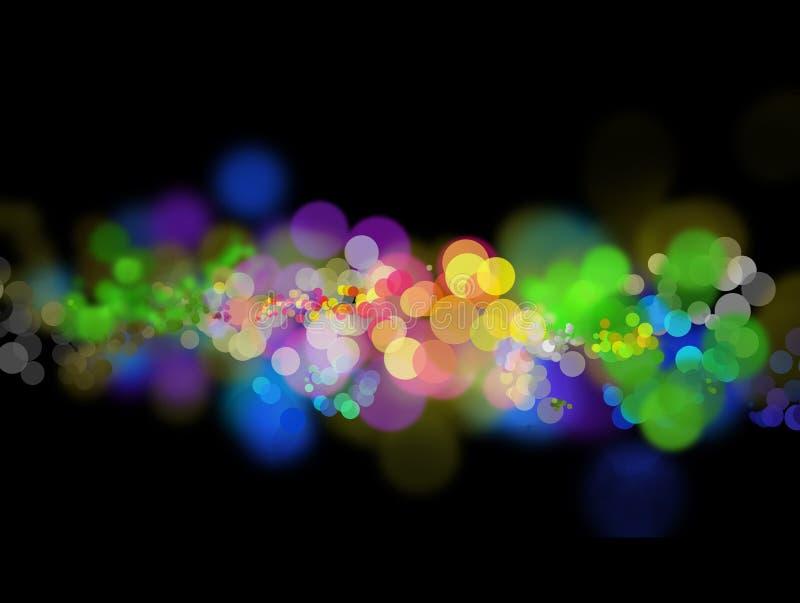 Abstrakte Leuchten stock abbildung