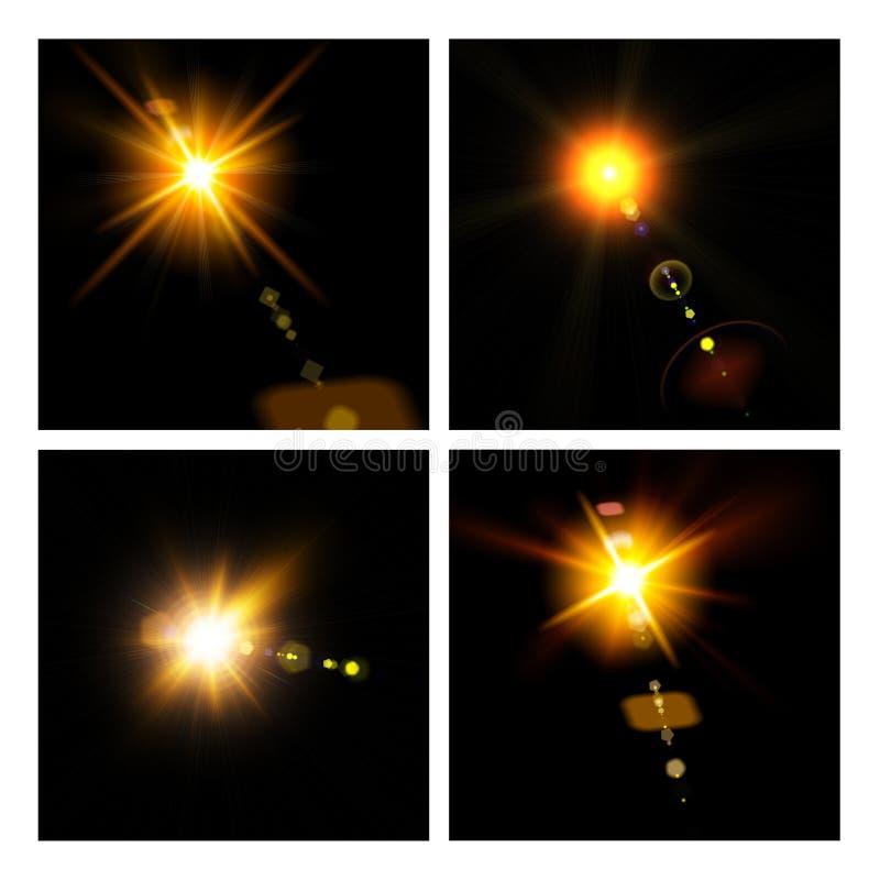 Abstrakte Leuchten lizenzfreies stockfoto