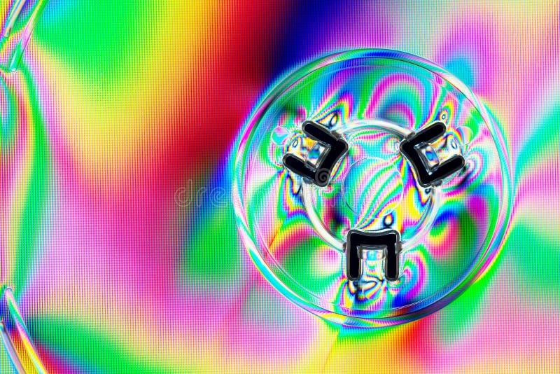 Abstrakte Lichteffekte stockfotografie