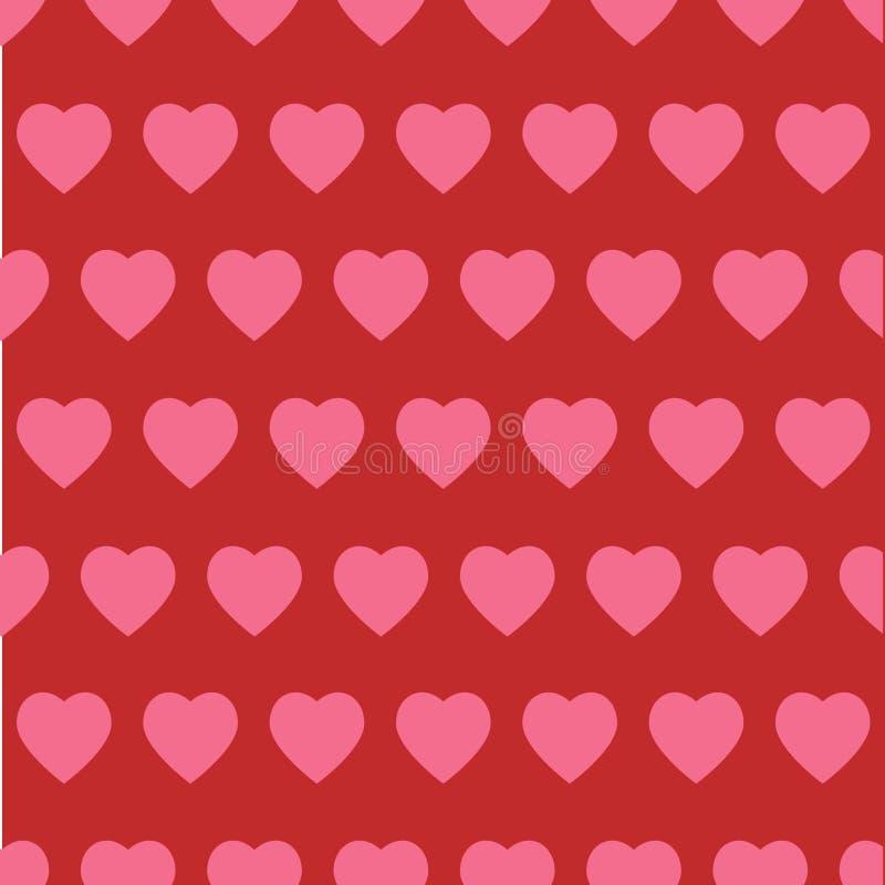 Abstrakte Liebeskonzeptabbildung stockbilder