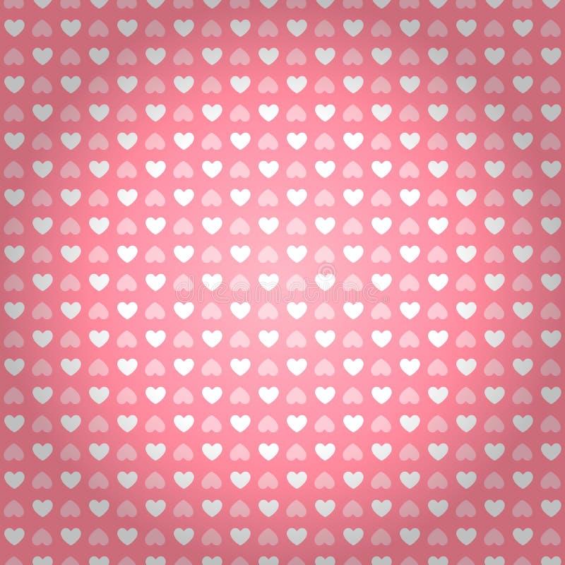 Abstrakte Liebeskonzeptabbildung stock abbildung