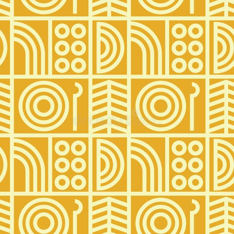 Download Abstrakte Linie Nahtloses Muster Der Kunst Vektor Abbildung - Illustration von farbe, platte: 106801963
