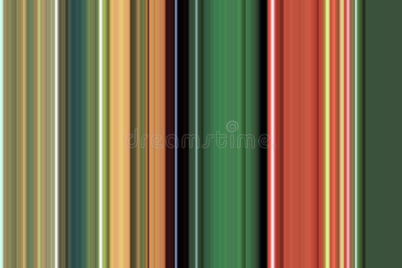 Abstrakte Linien in den Pastellfarben, in der Beschaffenheit und im Muster stock abbildung