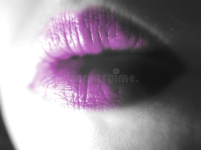 Abstrakte Lippen lizenzfreie stockfotos