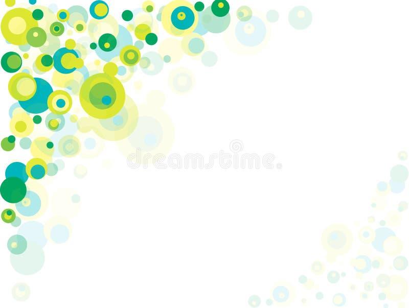 Abstrakte Luftblasen stock abbildung