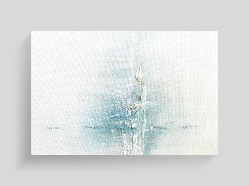 Abstrakte malende Kunst auf Segeltuchbeschaffenheitshintergrund Technikequpments und -rohre stockfotografie