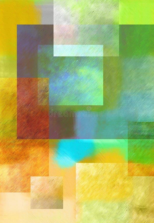 Abstrakte Malerei stockbild