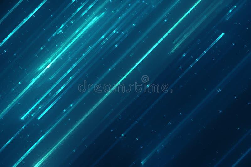 Abstrakte Matrix mögen Hintergrund stock abbildung