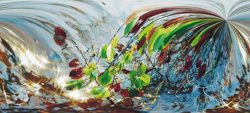 Abstrakte Mehrfarbenabbildung mit Mustern. lizenzfreie abbildung