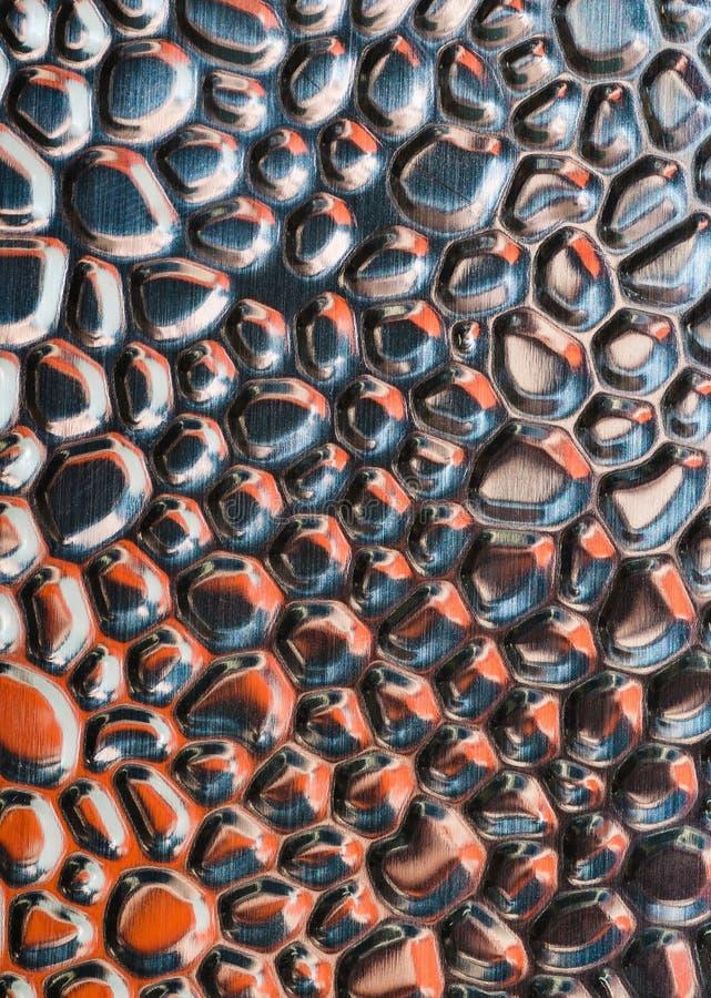 Abstrakte Metallentlastungs-Oberflächenhintergründe lizenzfreie stockfotografie