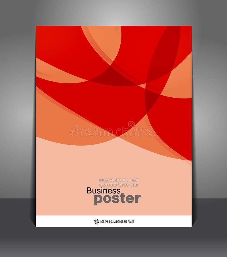 Abstrakte moderne Broschüre stock abbildung