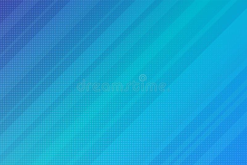 Abstrakte moderne Streifen-Linien blaue Steigung Vektorgeschäft vektor abbildung