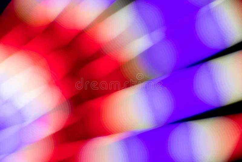 Abstrakte multi Farbe des Glühens Leuchtstoff stockfotos