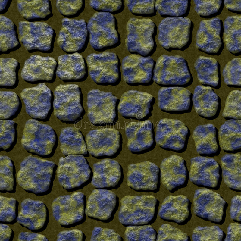 Abstrakte nahtlose erzeugte Beschaffenheit der Pflasterung Miet lizenzfreie abbildung