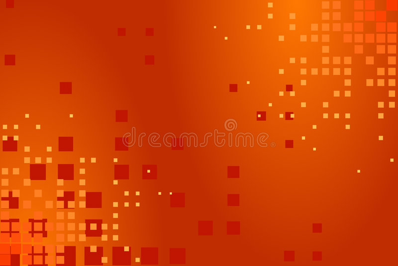 Abstrakte Orange vektor abbildung
