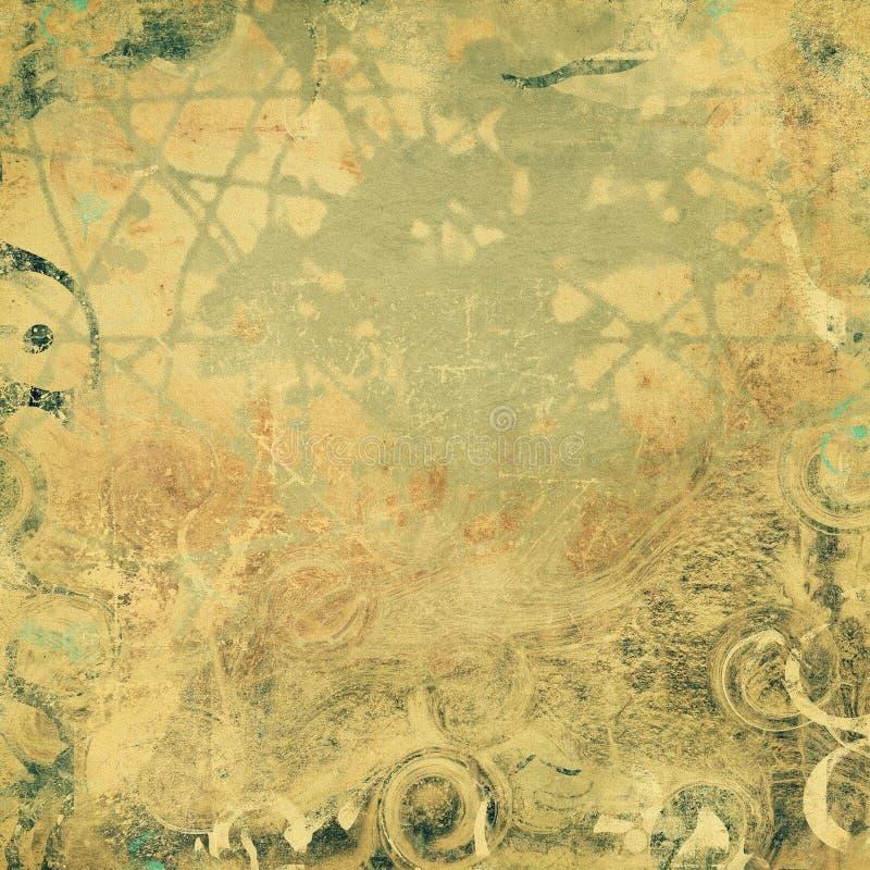 Abstrakte Papierbeschaffenheit, Schmutzhintergrund lizenzfreie abbildung
